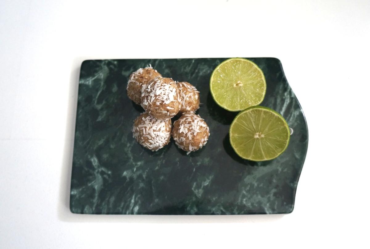 Energibarer med lime